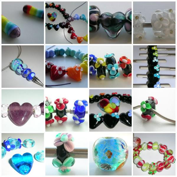 Glaskralen gemaakt door: www.justadropofwater.nl