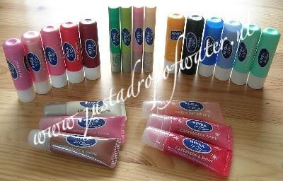Nivea Lip Care collectie. Klik voor groter!